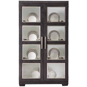 Contemporary Display Cabinet with Touch Lighting