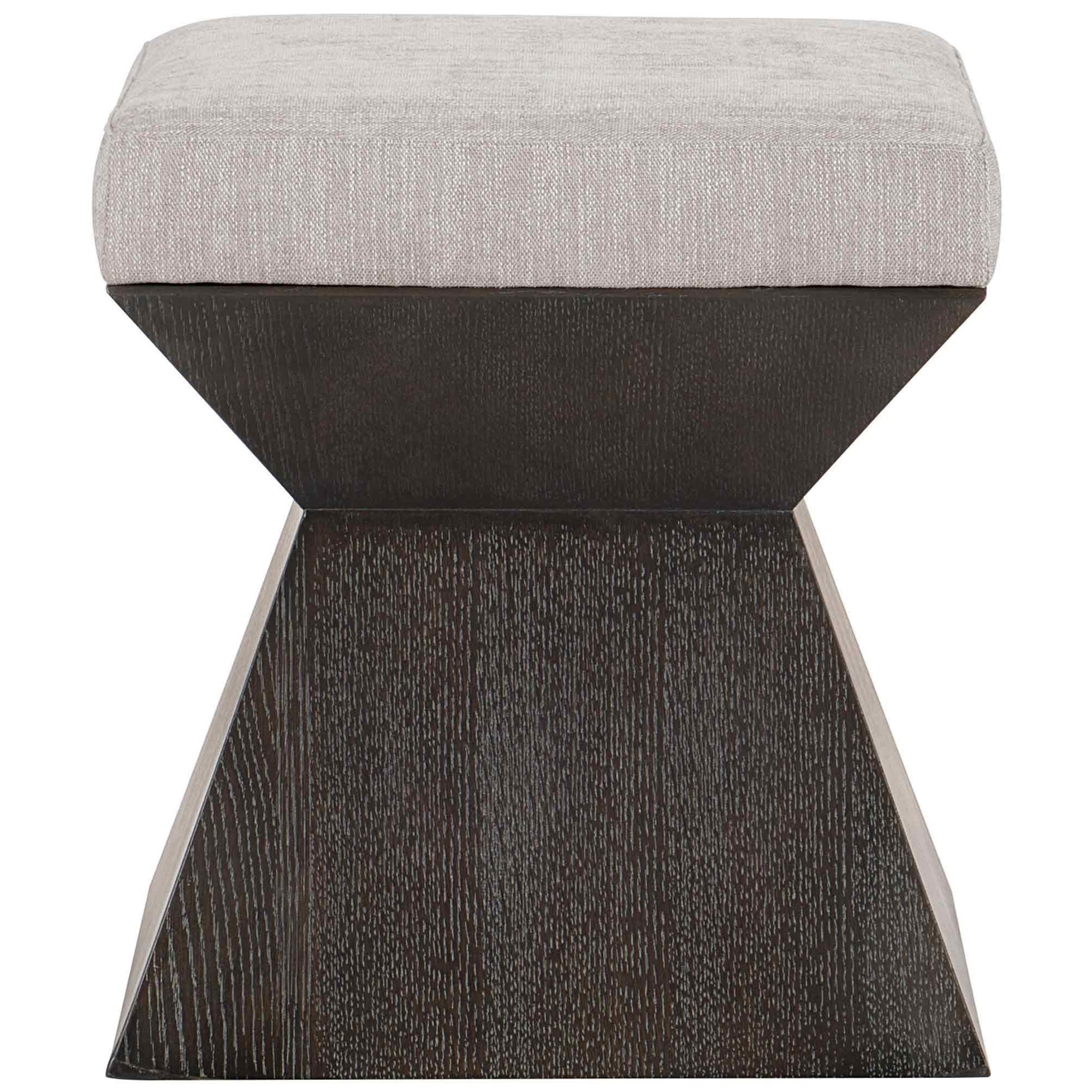 Decorage Customizable Bench by Bernhardt at Baer's Furniture