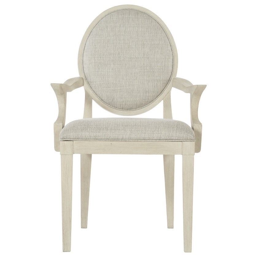East Hampton Customizable Oval Back Arm Chair by Bernhardt at Baer's Furniture