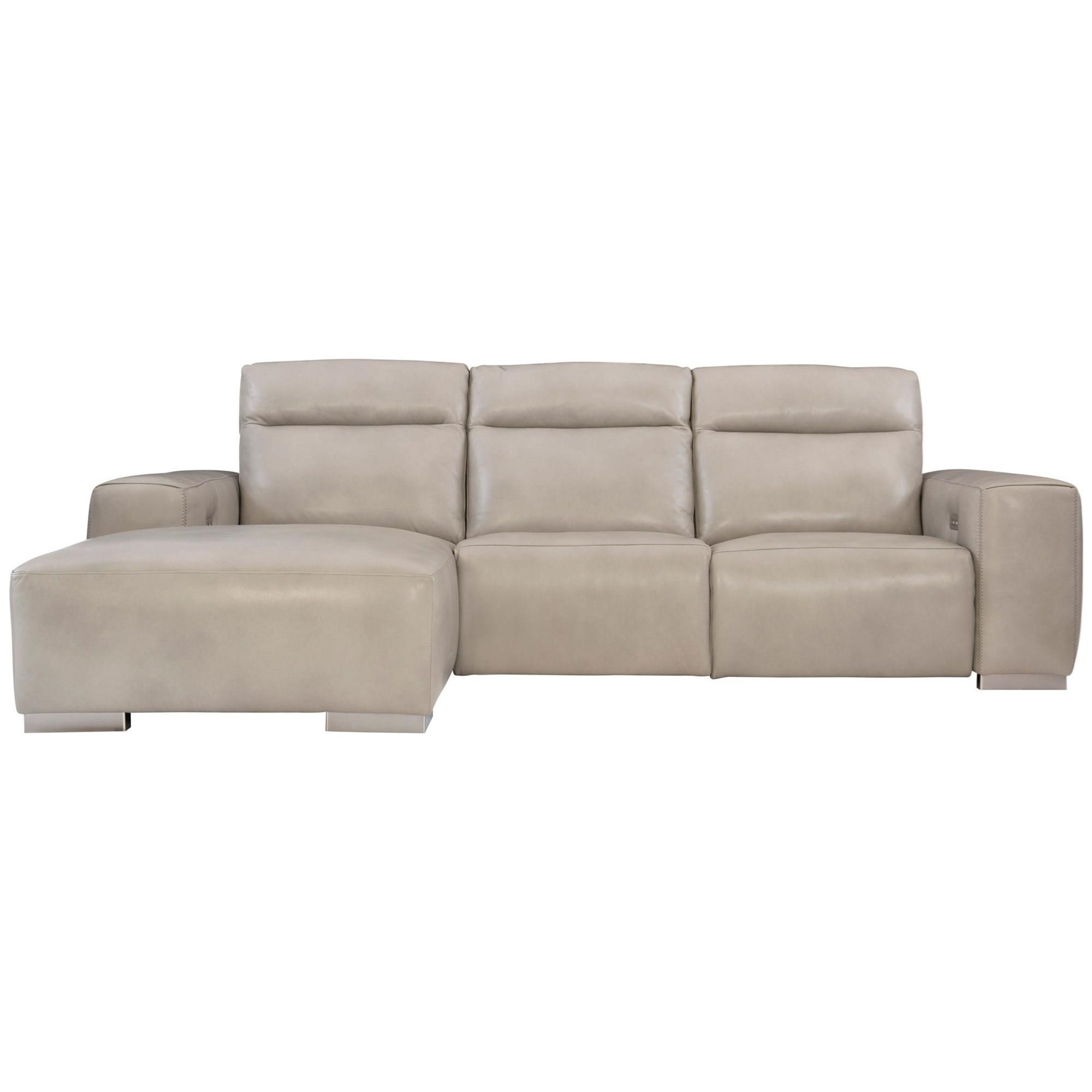 Elba Power Motion Sectional by Bernhardt at Baer's Furniture