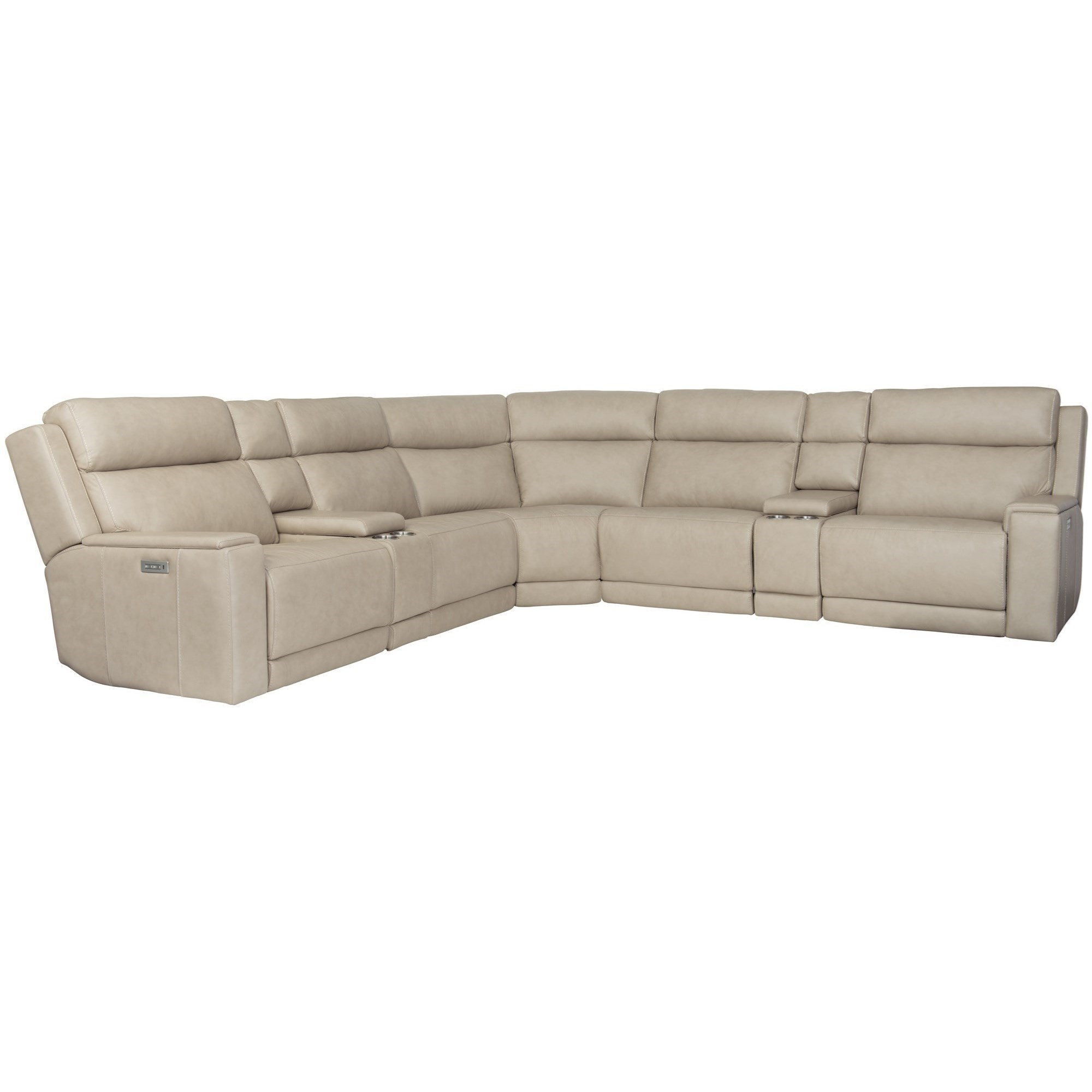 Emerson Power Motion Sectional by Bernhardt at Fisher Home Furnishings