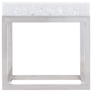 Square Acrylic End Table