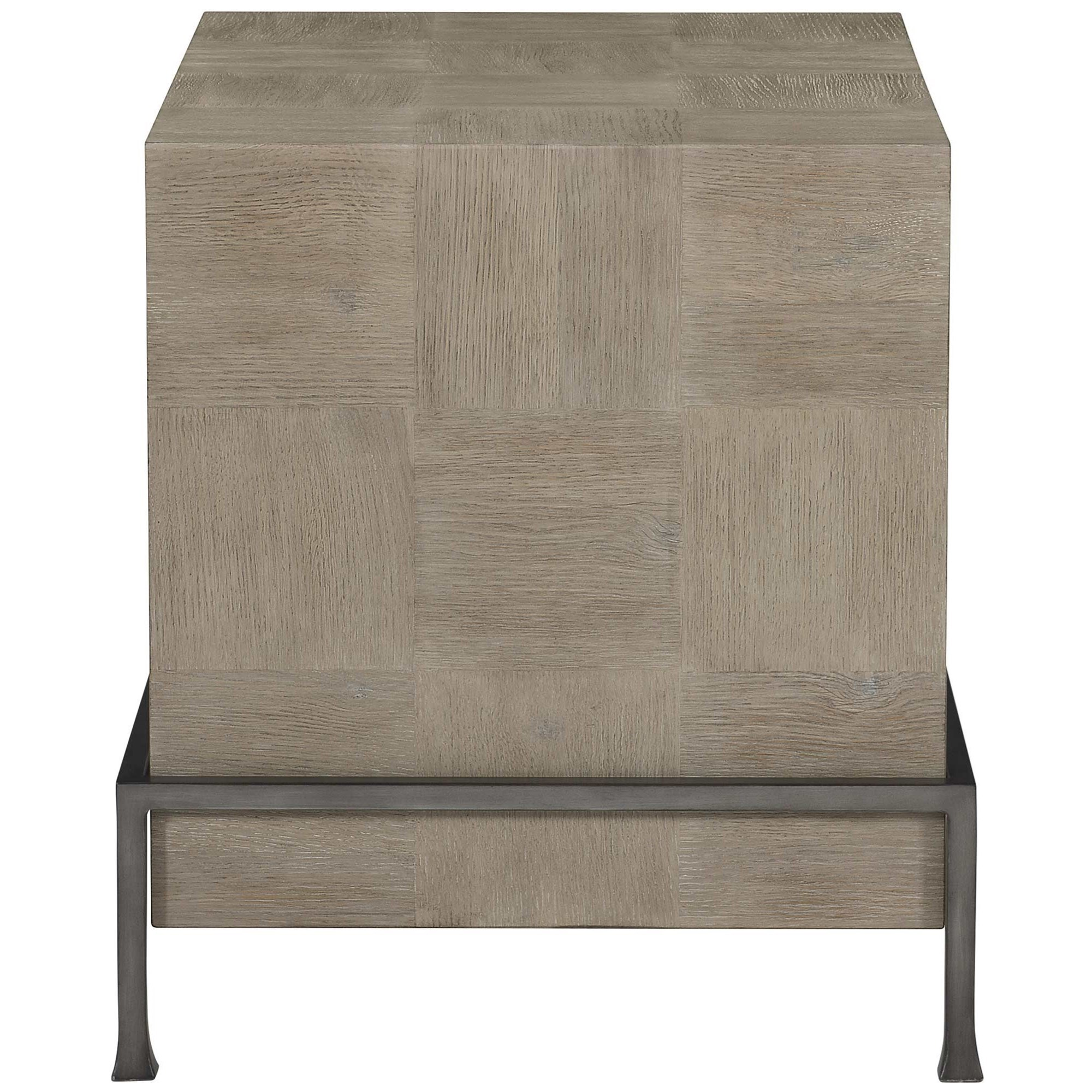 Fairgrove Side Table by Bernhardt at Malouf Furniture Co.