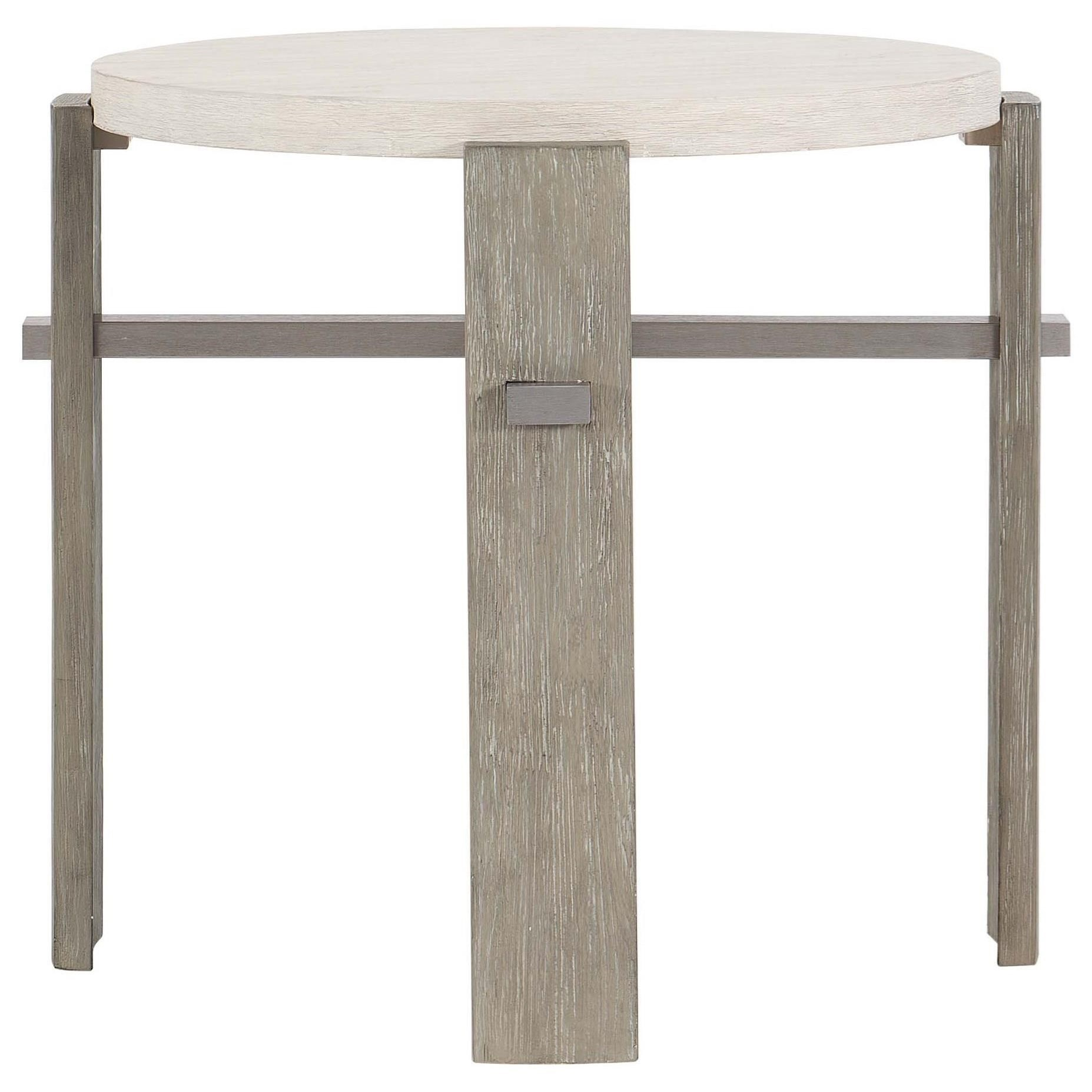 Foundations Side Table by Bernhardt at Baer's Furniture