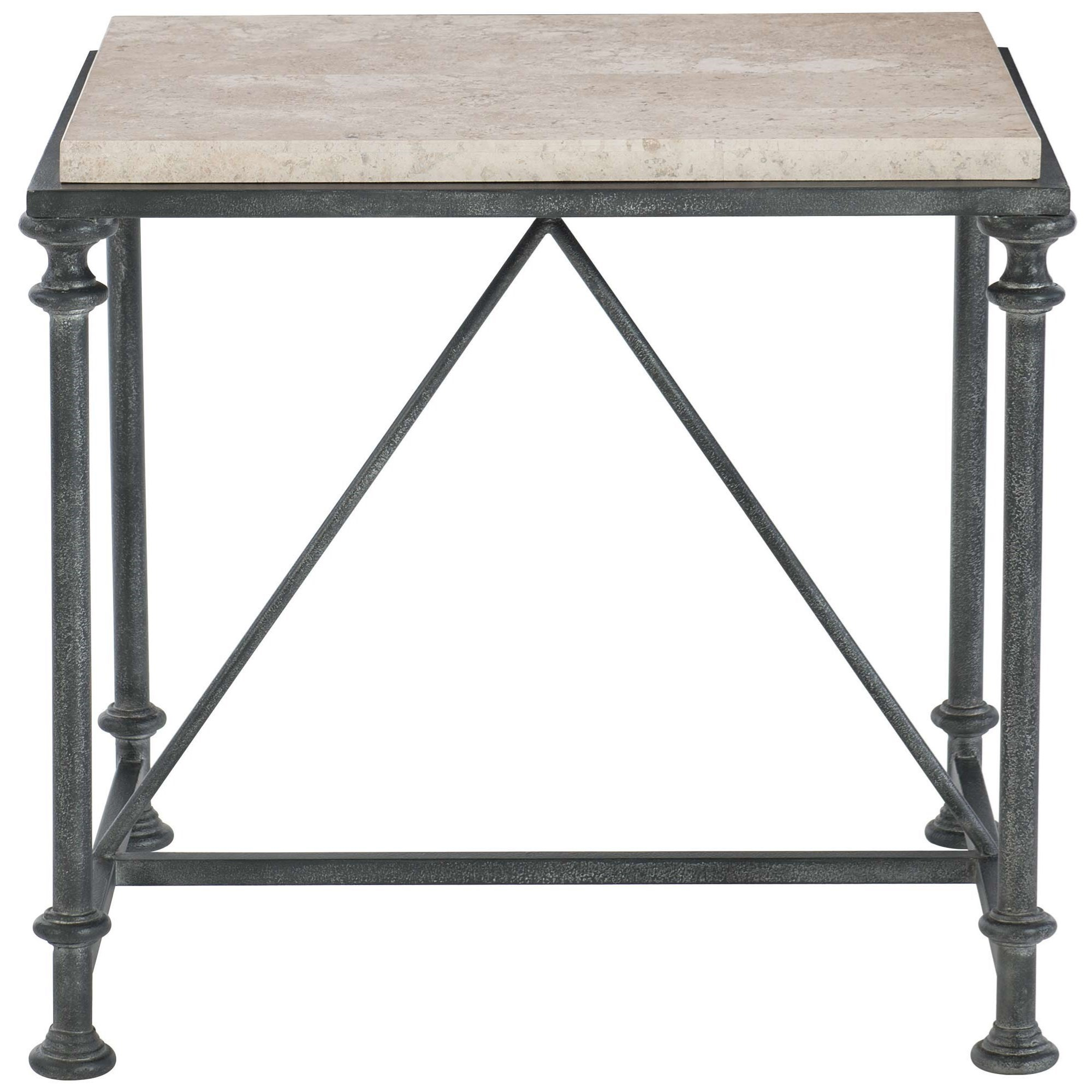 Galesbury Metal End Table by Bernhardt at Darvin Furniture