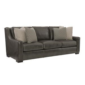 Contemporary Sofa with Spring Down Cushions