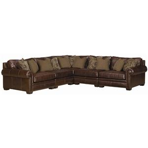 Bernhardt Grandview Traditional Sectional