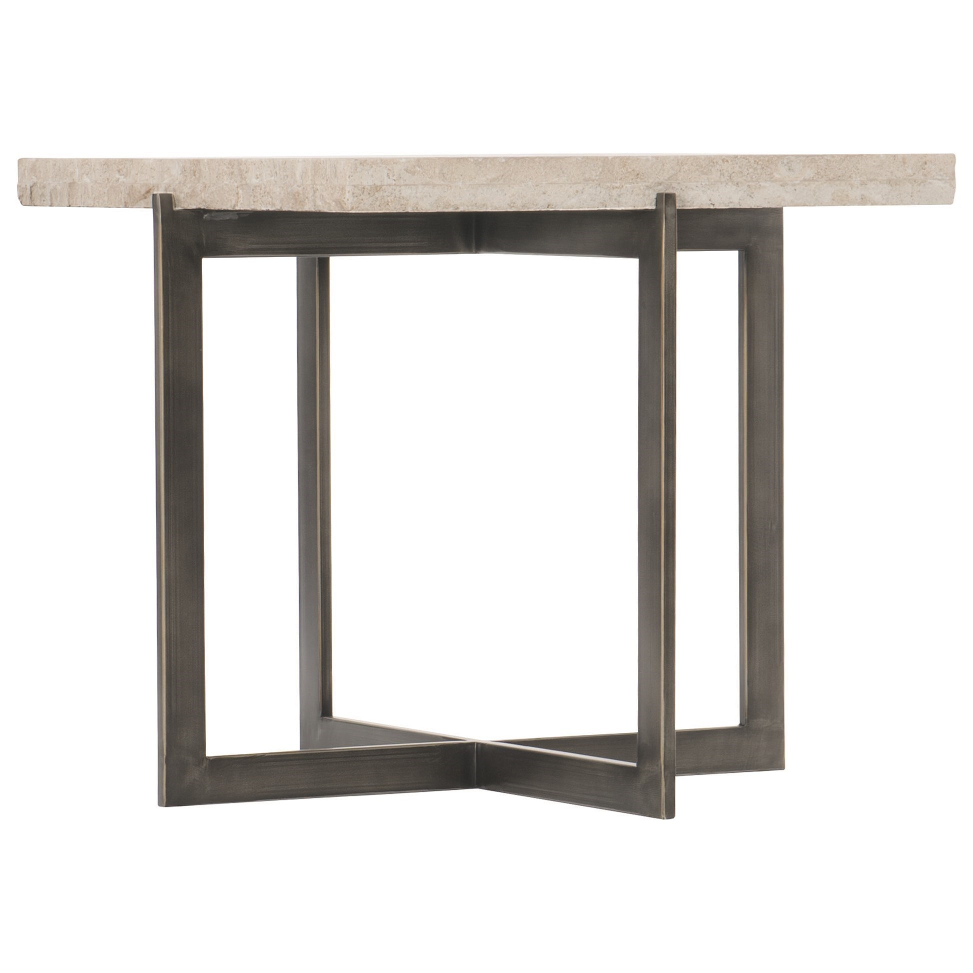 Hathaway Metal Bunching Cocktail Table by Bernhardt at Darvin Furniture