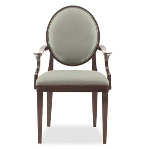 Arm Chair with Oval Back