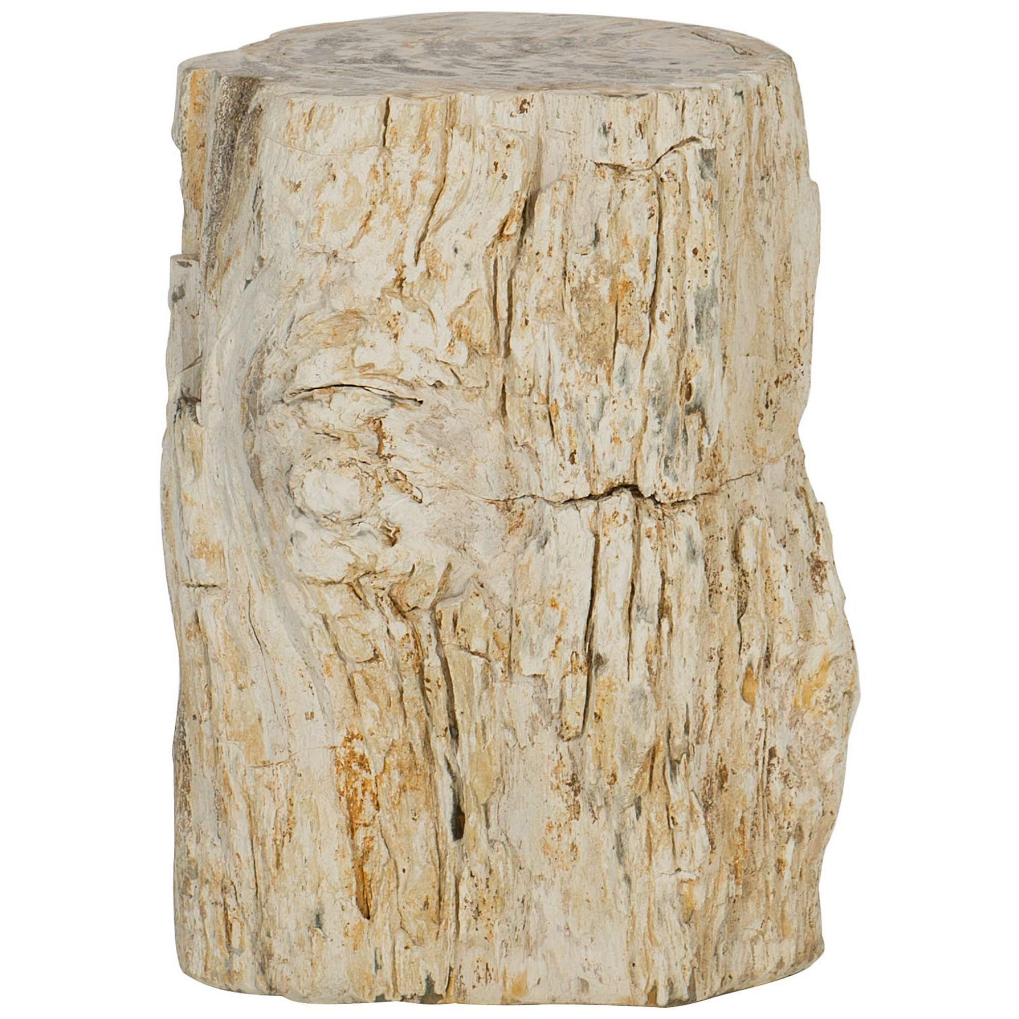 Interiors - Accents Petrified Wood Drink Table by Bernhardt at Baer's Furniture