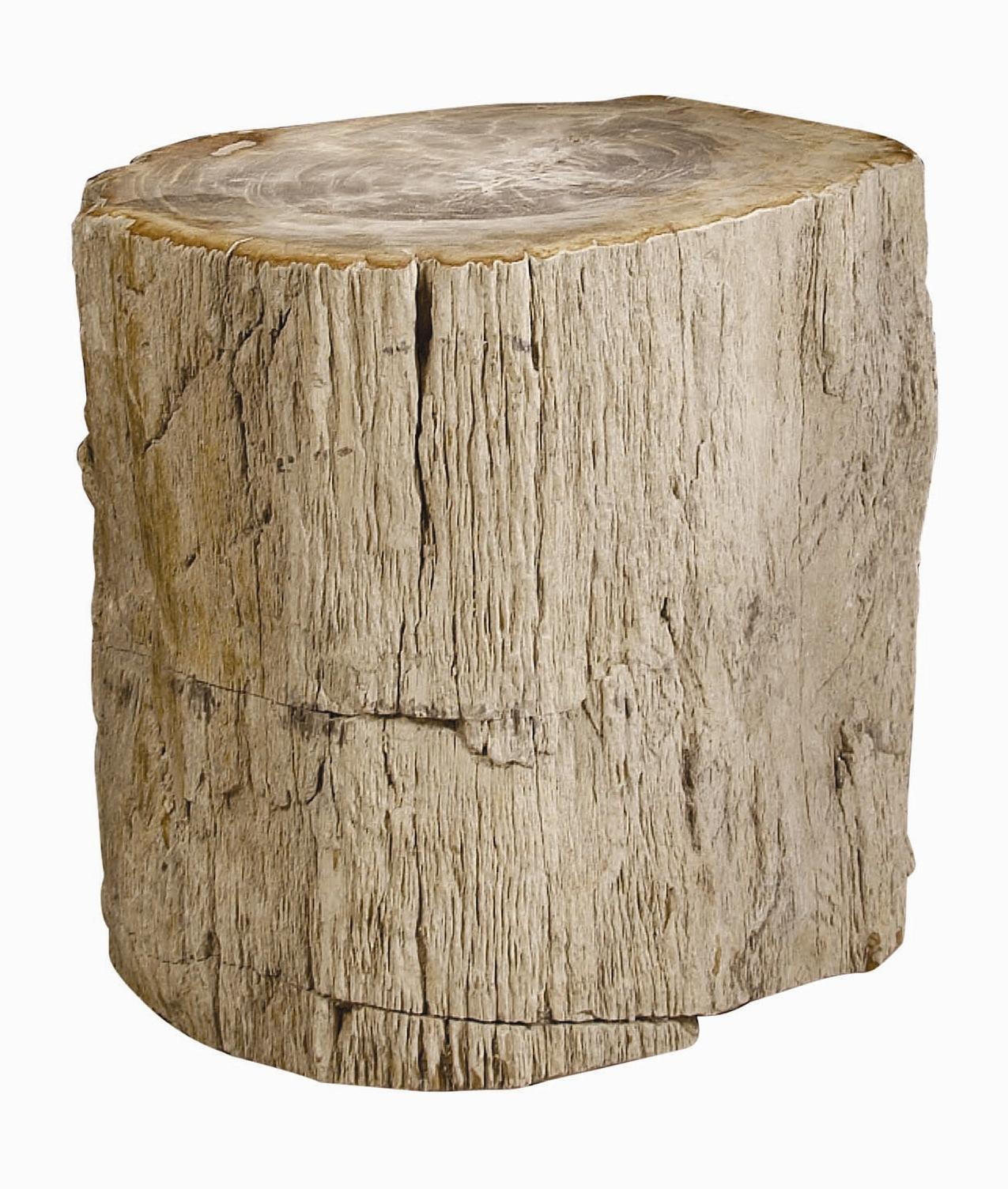 Interiors - Accents Petrified Wood Side Table by Bernhardt at Baer's Furniture