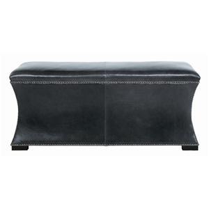 Bernhardt Interiors - Accents Baxter Leather Bench