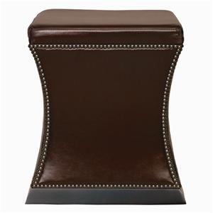 Bernhardt Interiors - Accents Leyden Leather Ottoman
