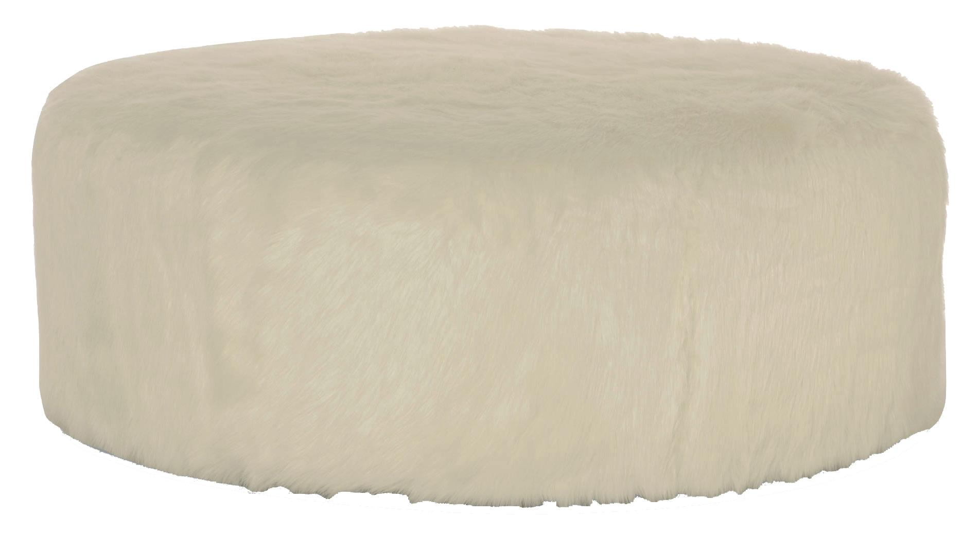 Interiors - Accents Tyre Round Ottoman by Bernhardt at Baer's Furniture