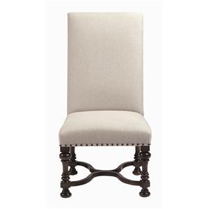 Bernhardt Interiors - Antwerp Exposed Wood Side Chair