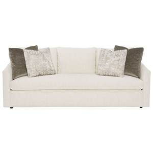 Contemporary Sofa with Bench Seat