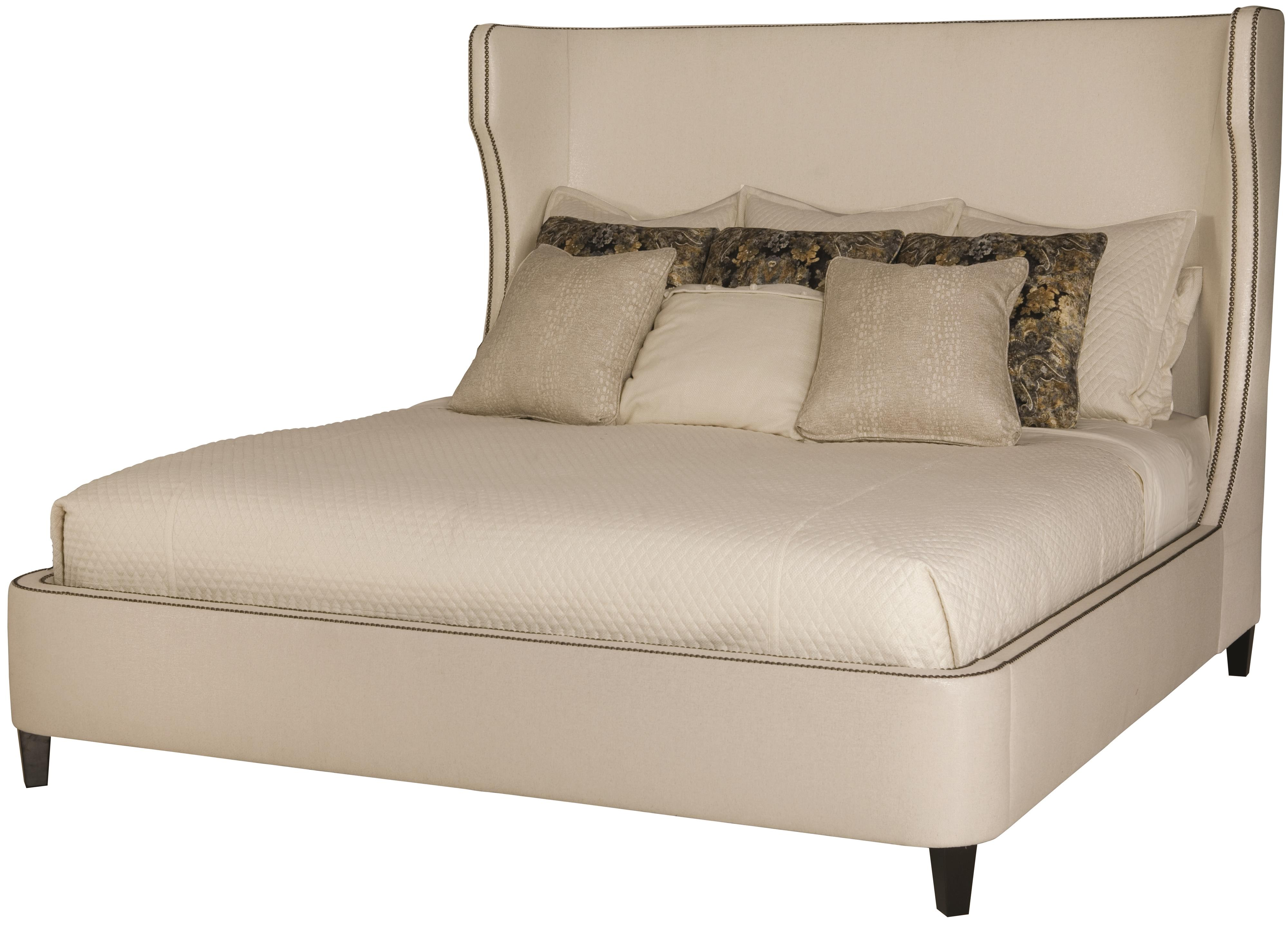 Interiors - Beds Wheeling King Upholstered Bed by Bernhardt at Fisher Home Furnishings