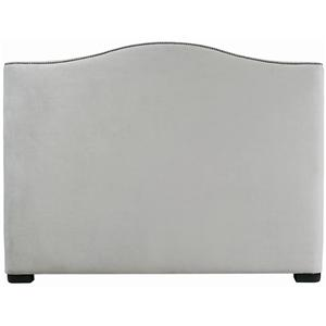 Bernhardt Interiors - Beds Twin Graham Camelback Headboard