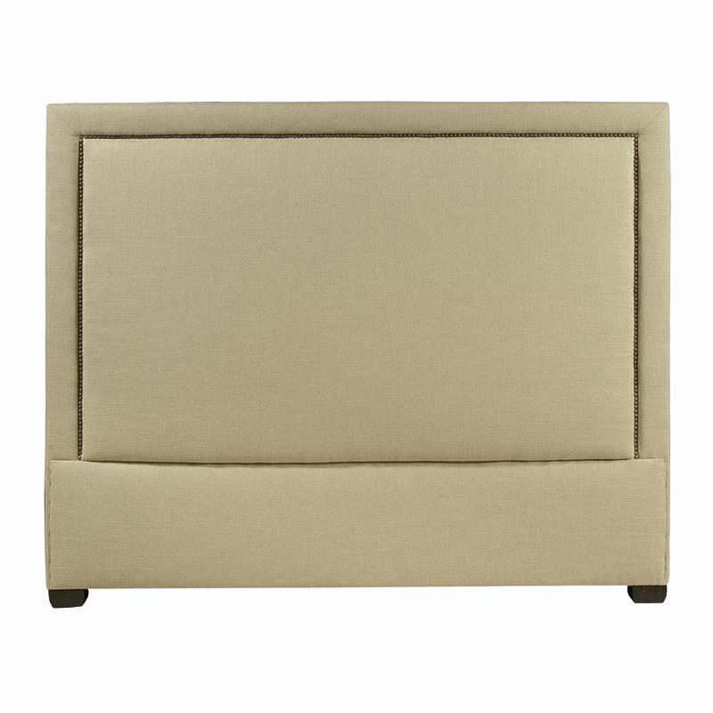 Interiors - Morgan Queen Upholstered Headboard at Williams & Kay