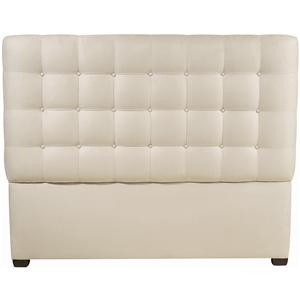 King-Size Avery Button-Tufted Fabric Upholstered Headboard