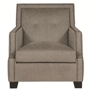Well Crafted Accent Chair with High End Artistic Design
