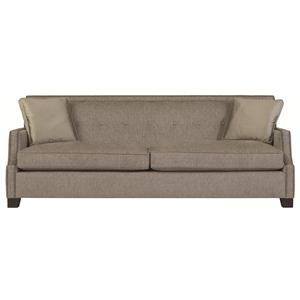 High End Transitional Sofa with Modern Style and Nail Head Trim