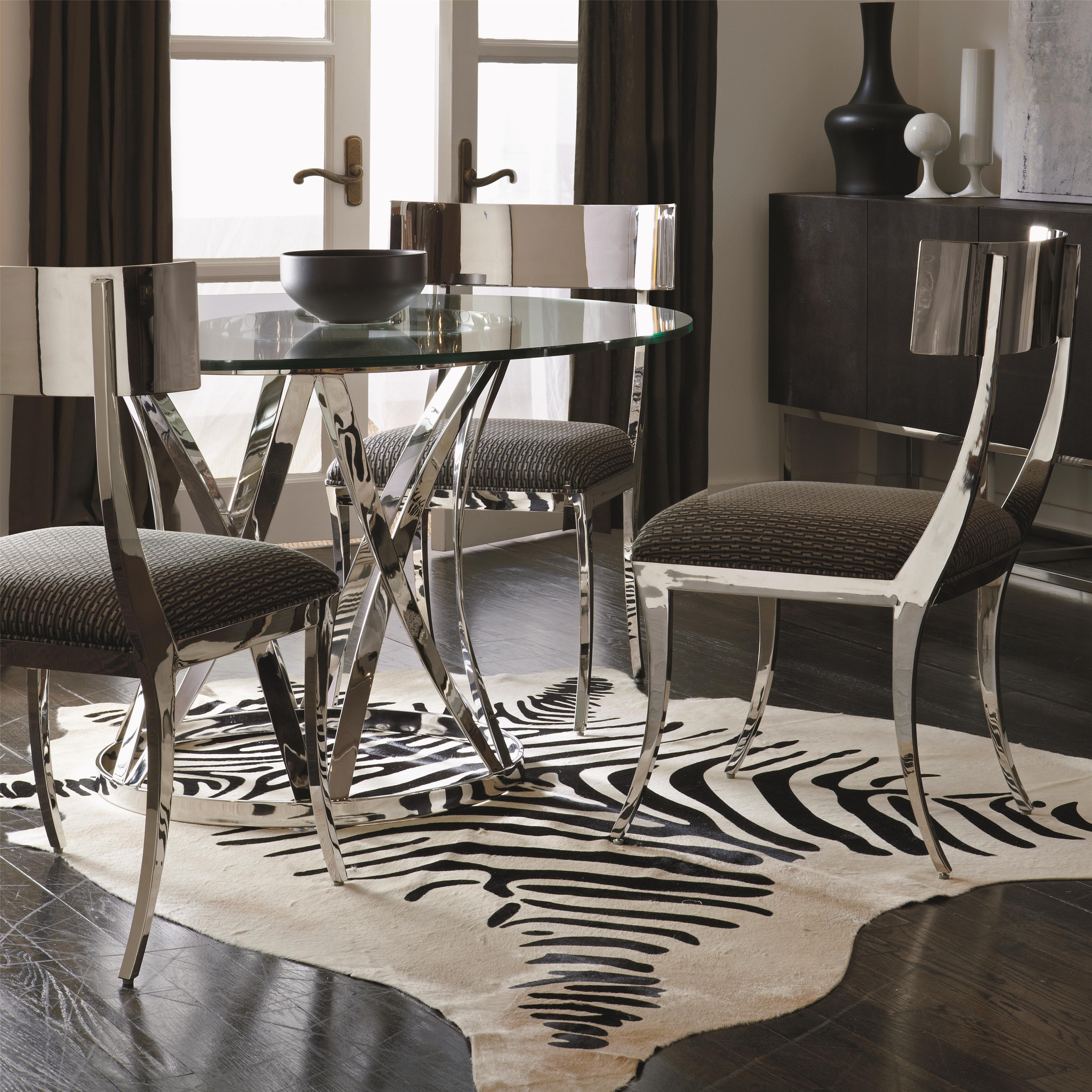 Interiors - Gustav Table and Chair Set by Bernhardt at Baer's Furniture