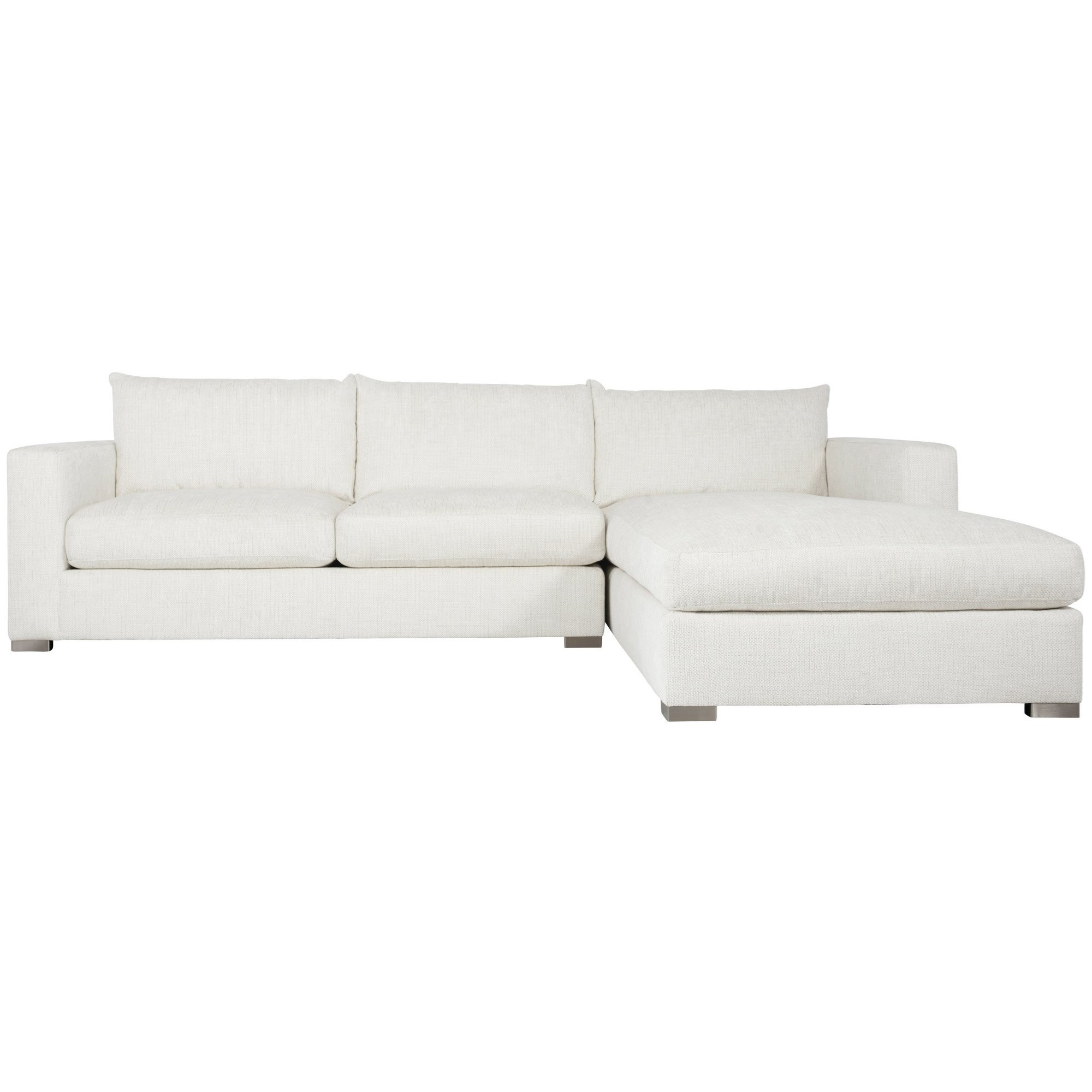 Interiors - Helena 2-Piece Sectional by Bernhardt at Fisher Home Furnishings