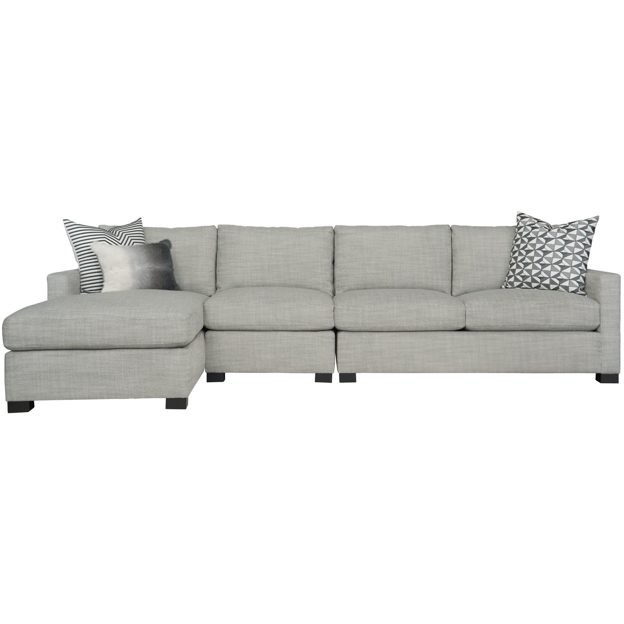 Interiors - Kelsey 3-Piece Sectional by Bernhardt at Baer's Furniture