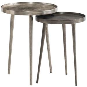 Cast Aluminum Nesting Table Set
