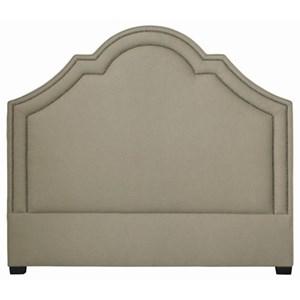Queen Crown Top Upholstered Headboard