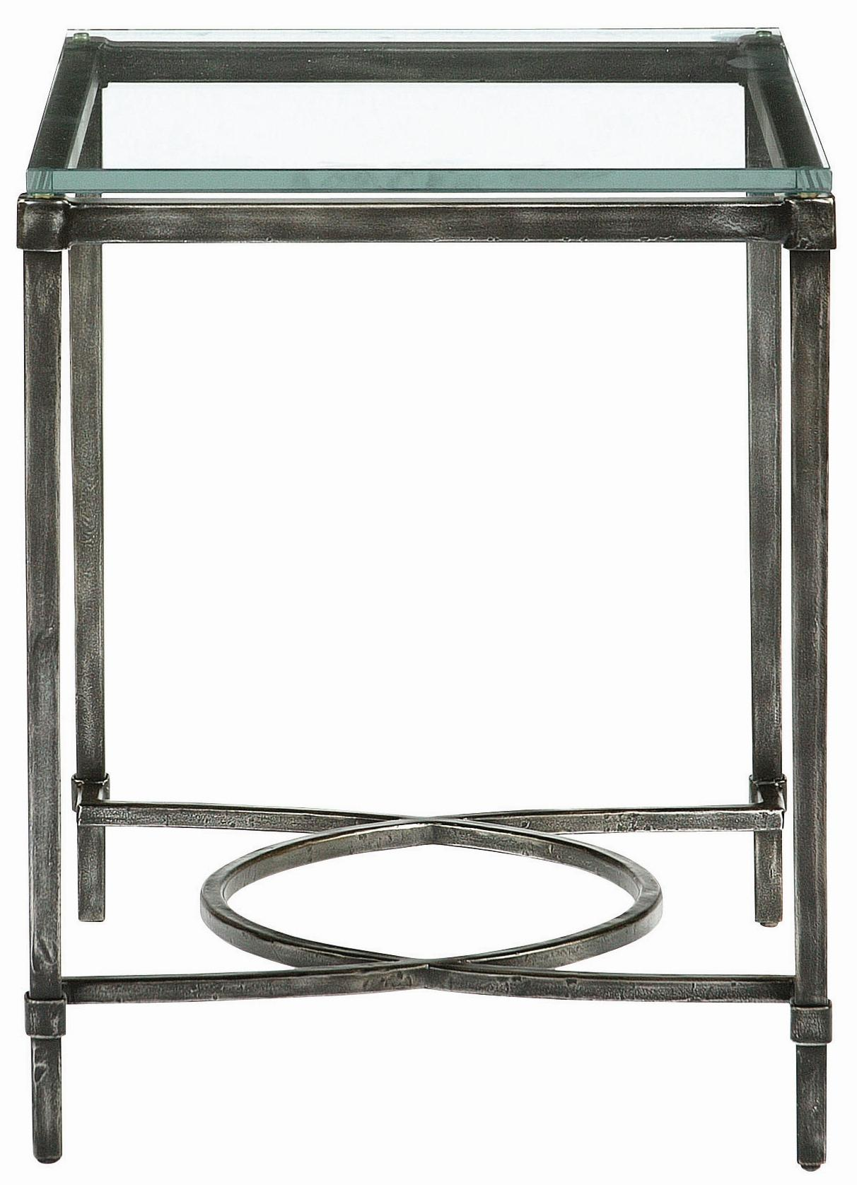 Interiors - Accents Palmer Metal End Table by Bernhardt at Baer's Furniture