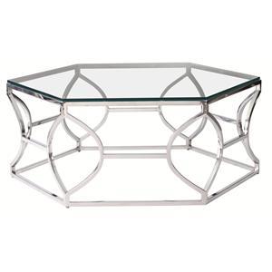 Bernhardt Interiors - Accents Argent Metal Cocktail Table