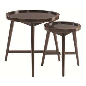 Putnam Round Nesting End Tables
