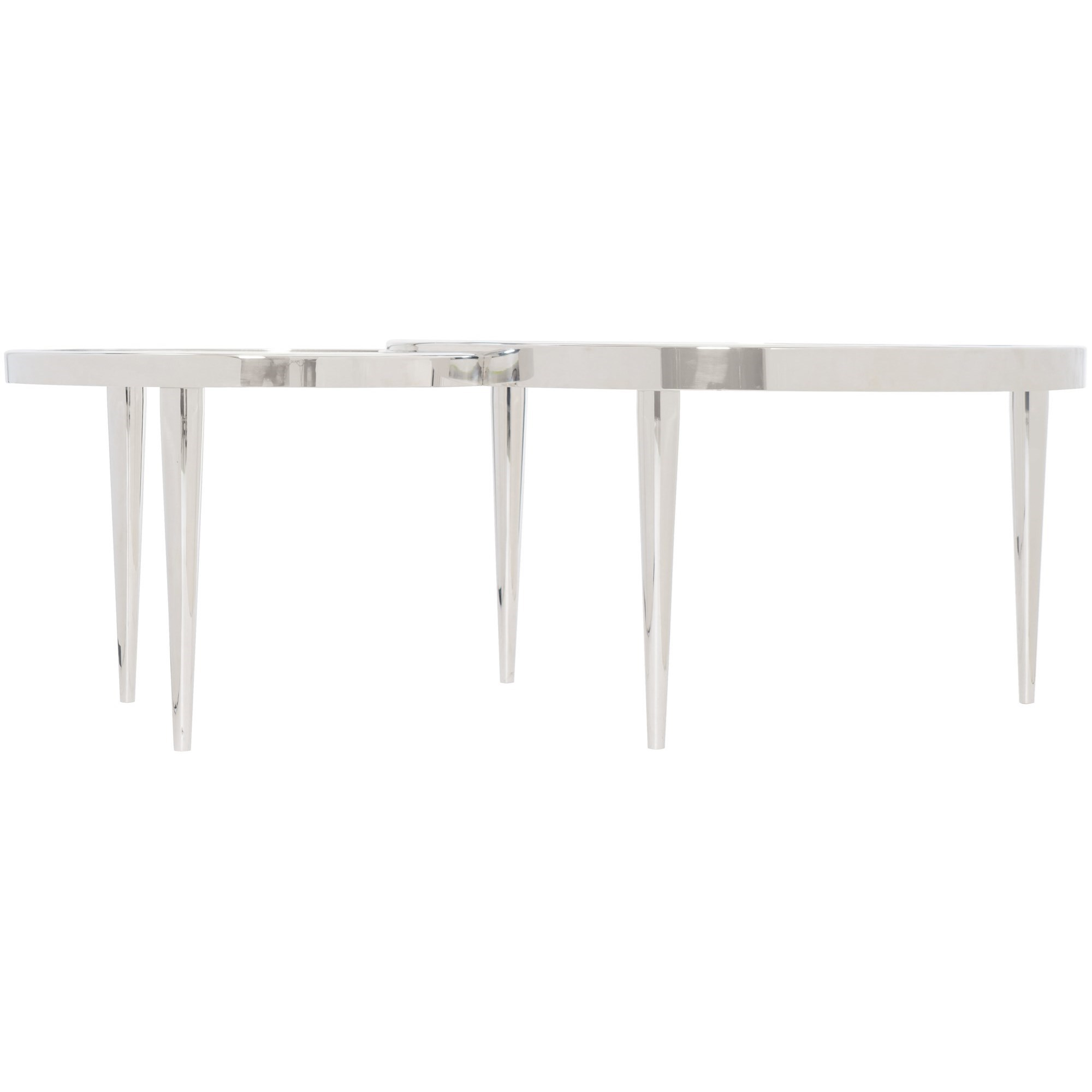 Interiors - Ornette Stainless Steel Cocktail Table at Williams & Kay