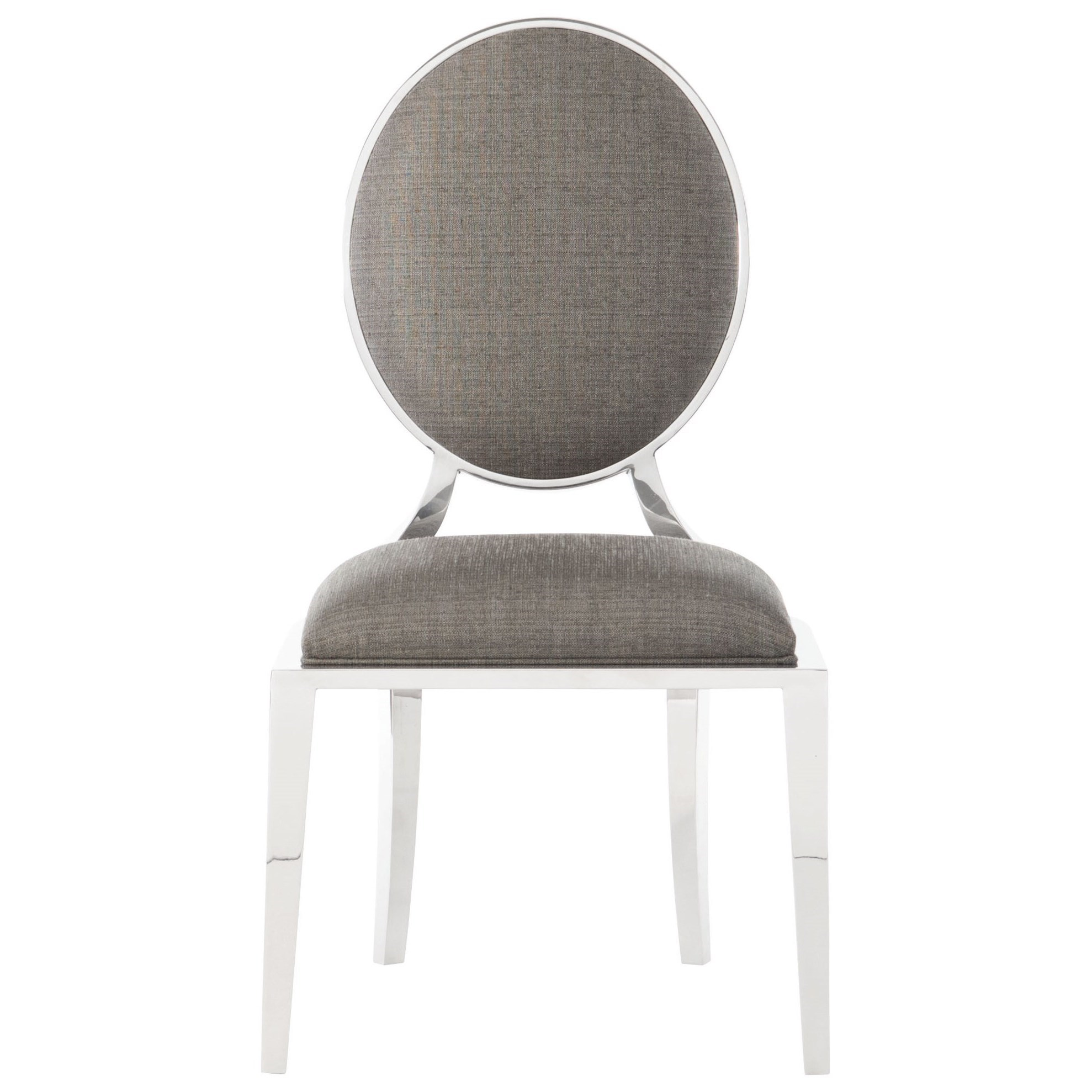 Interiors - Percival Metal Side Chair by Bernhardt at Fisher Home Furnishings