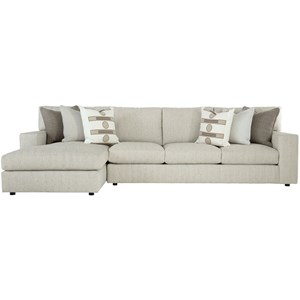 Contemporary Sectional with Chaise