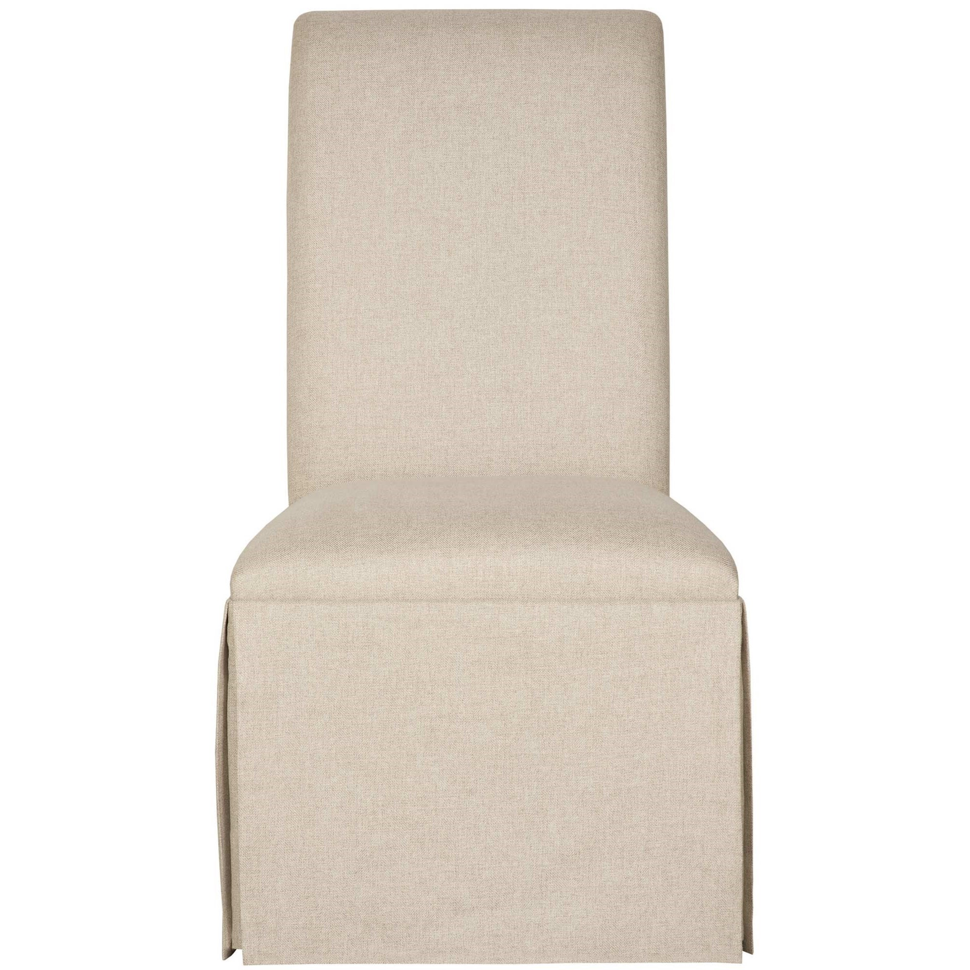 Interiors - Tessa Skirted Side Chair at Williams & Kay