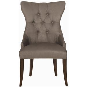 Bernhardt Interiors - Chairs Deco Tufted Back Chair