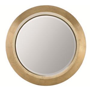 Round Mirror with Beveled Glass
