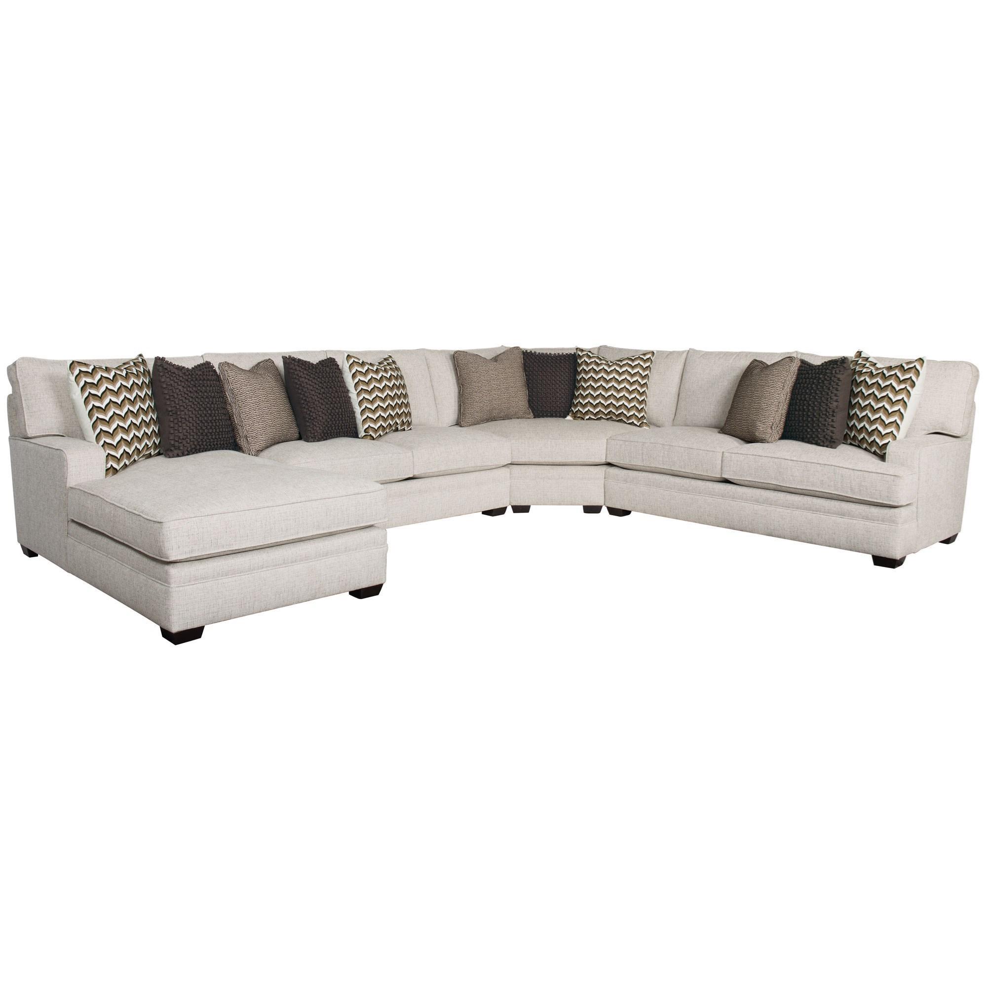 Karsten Four Piece Sectional by Bernhardt at Sprintz Furniture