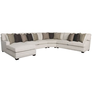 Four Piece Sectional with Chaise