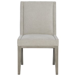 Transitional Upholstered Side Chair