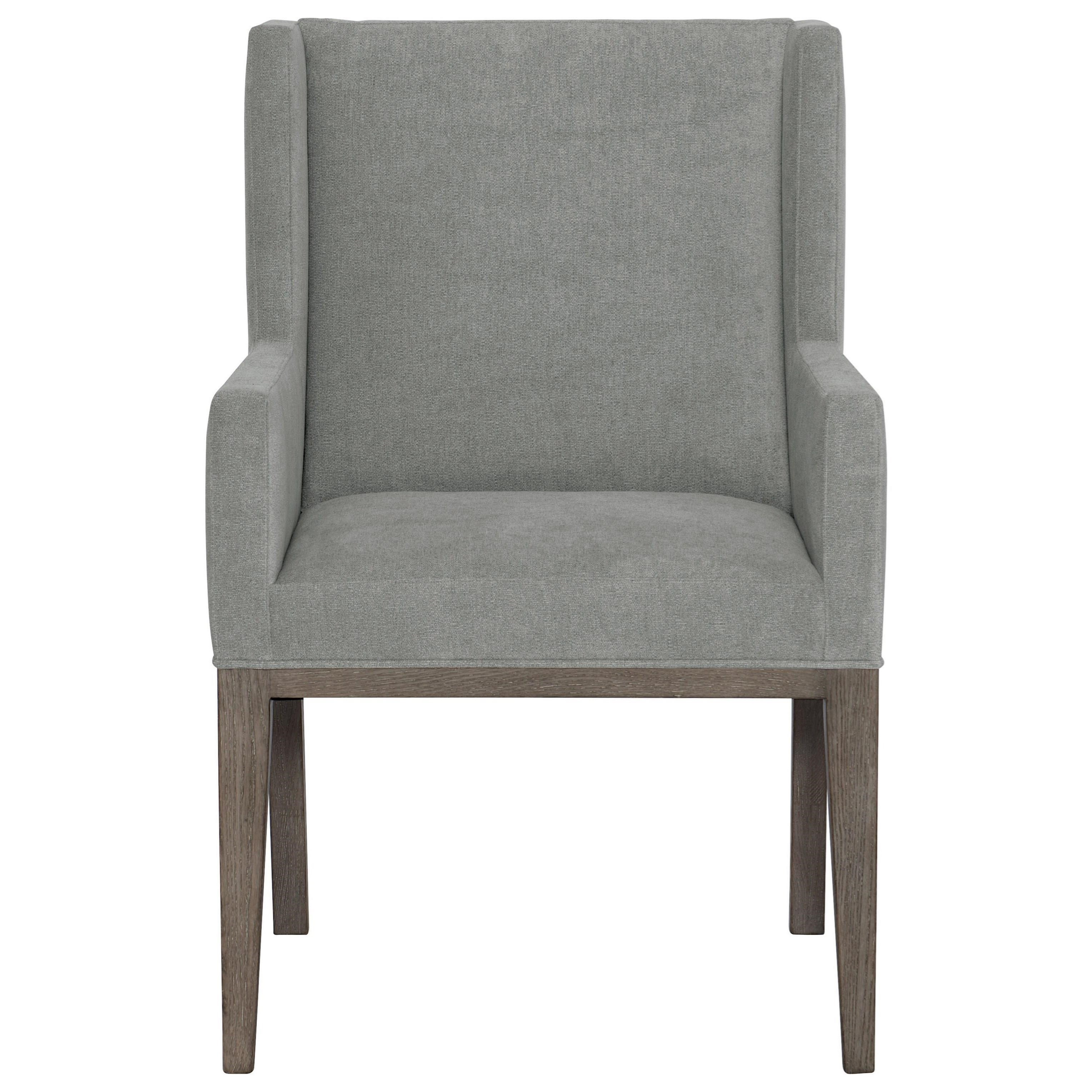 Linea Customizable Upholstered Arm Chair by Bernhardt at Fisher Home Furnishings
