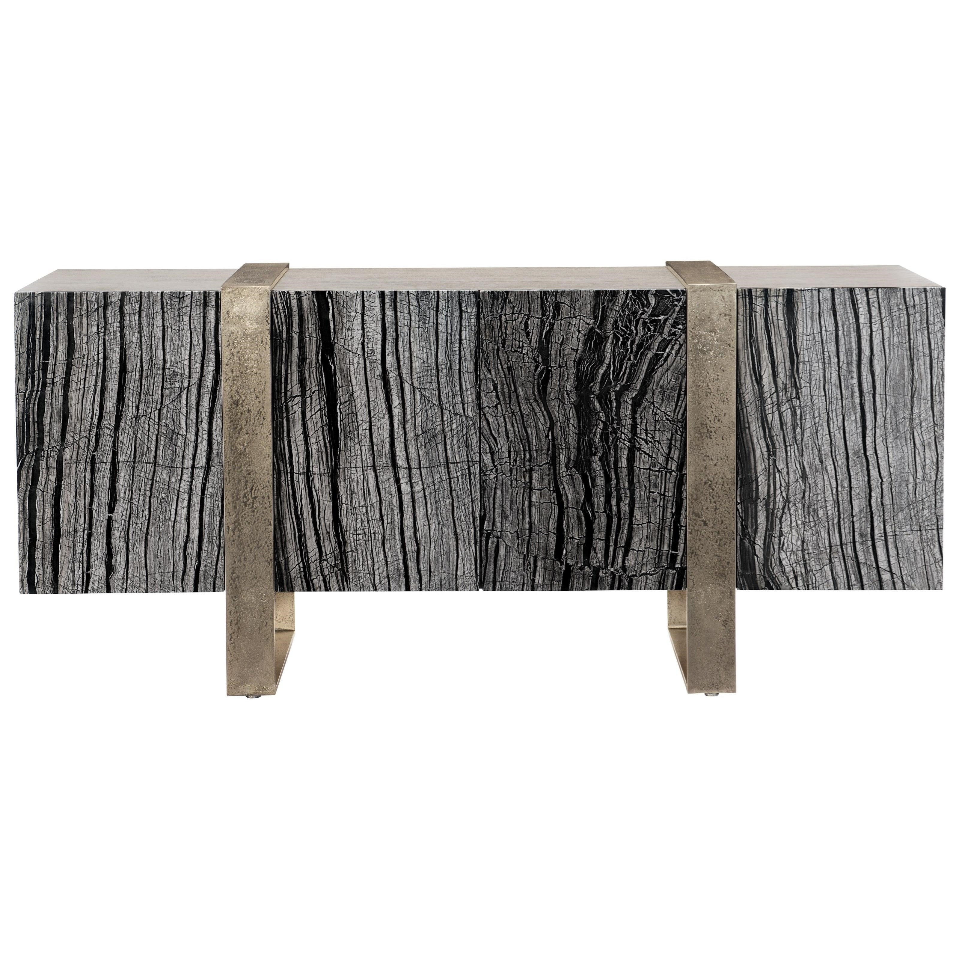 Linea Entertainment Console by Bernhardt at Esprit Decor Home Furnishings