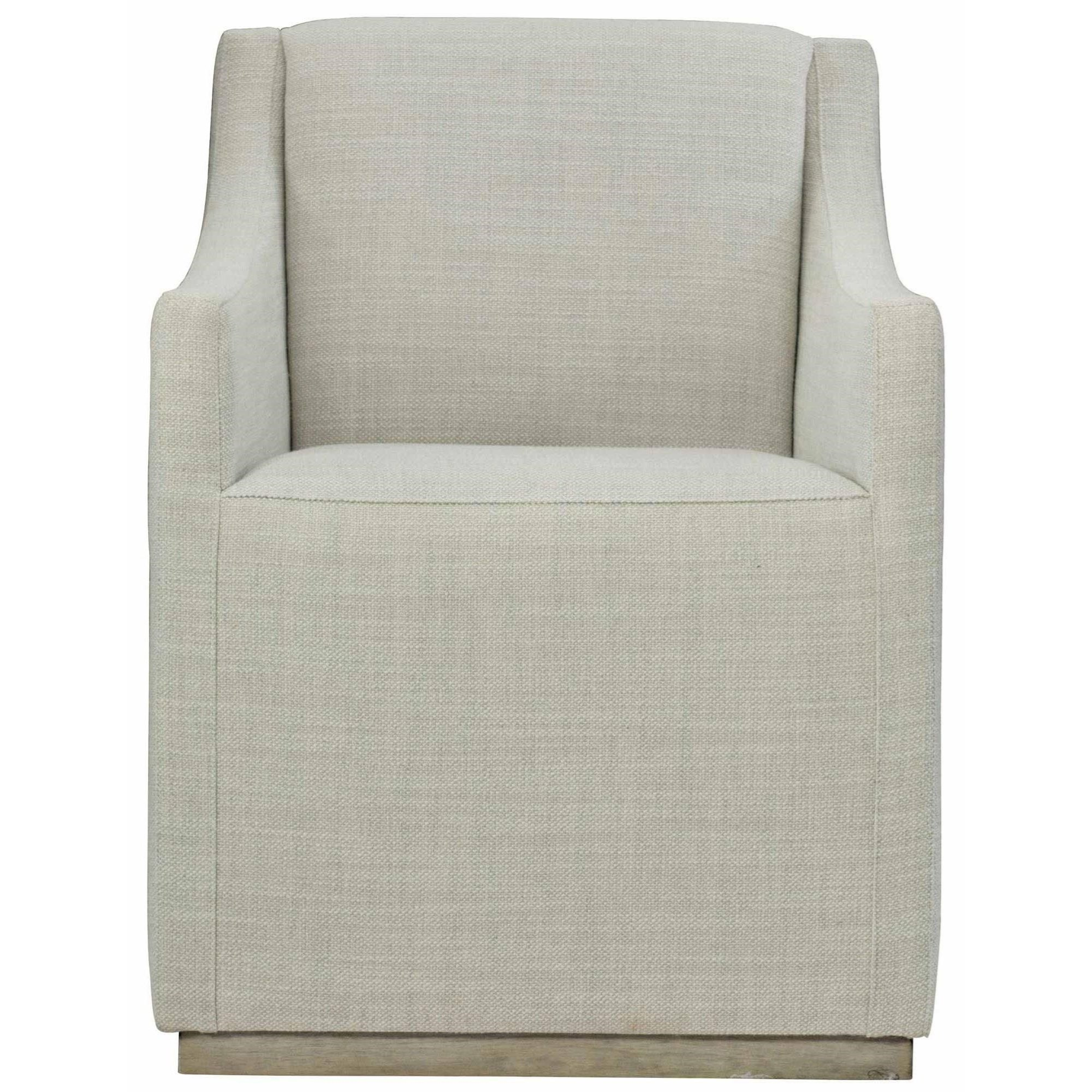 Loft - Highland Park Casey Upholstered Dining Arm Chair by Bernhardt at Baer's Furniture