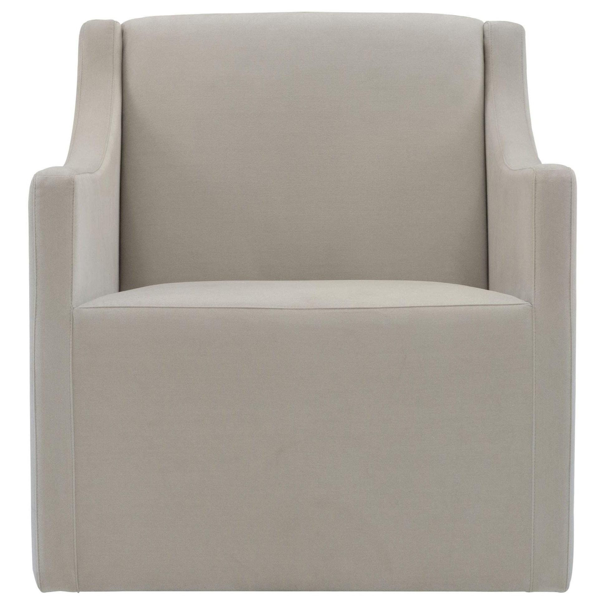 Loft - Highland Park Elle Swivel Chair by Bernhardt at Baer's Furniture