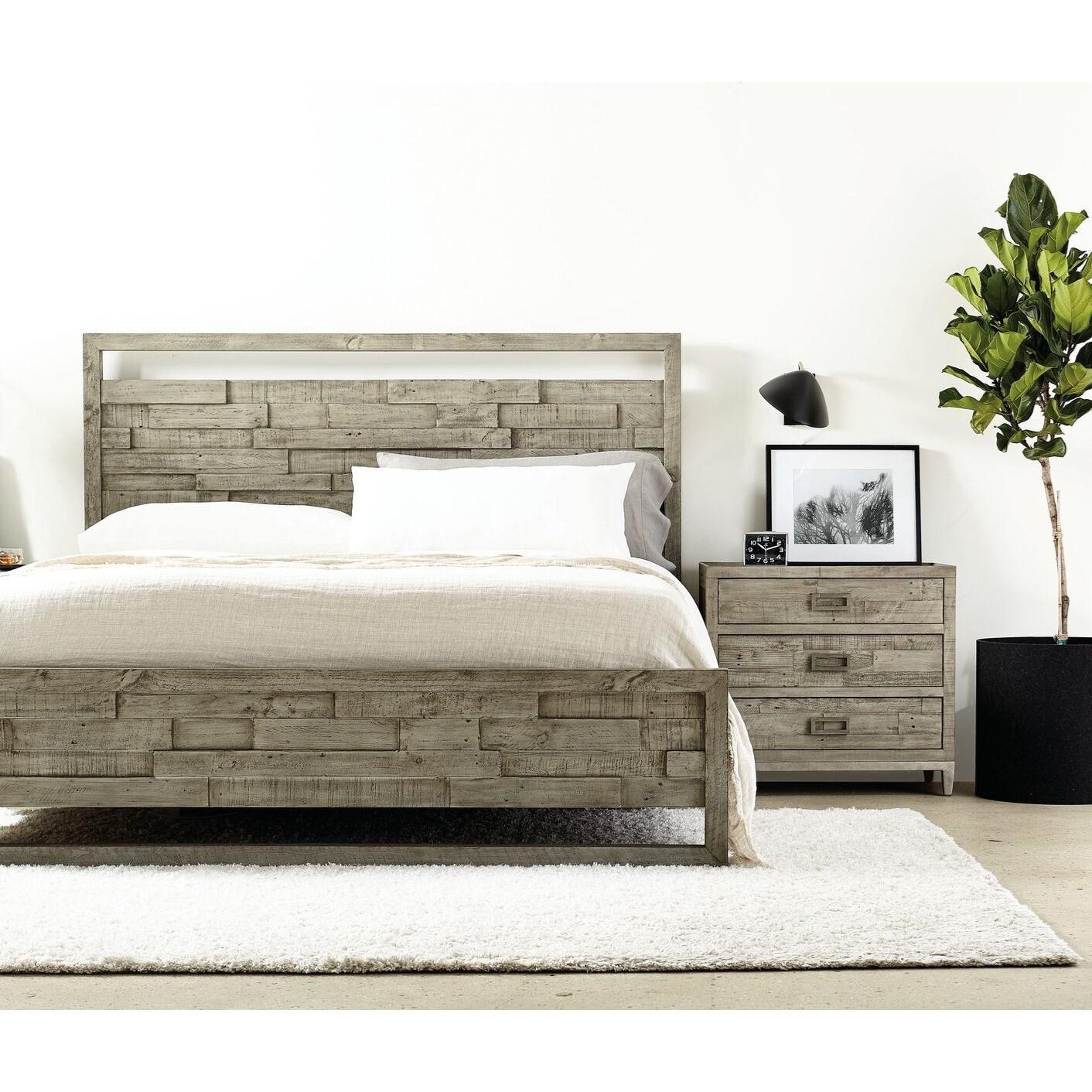 Loft - Highland Park Shaw Bedroom Group by Bernhardt at Baer's Furniture
