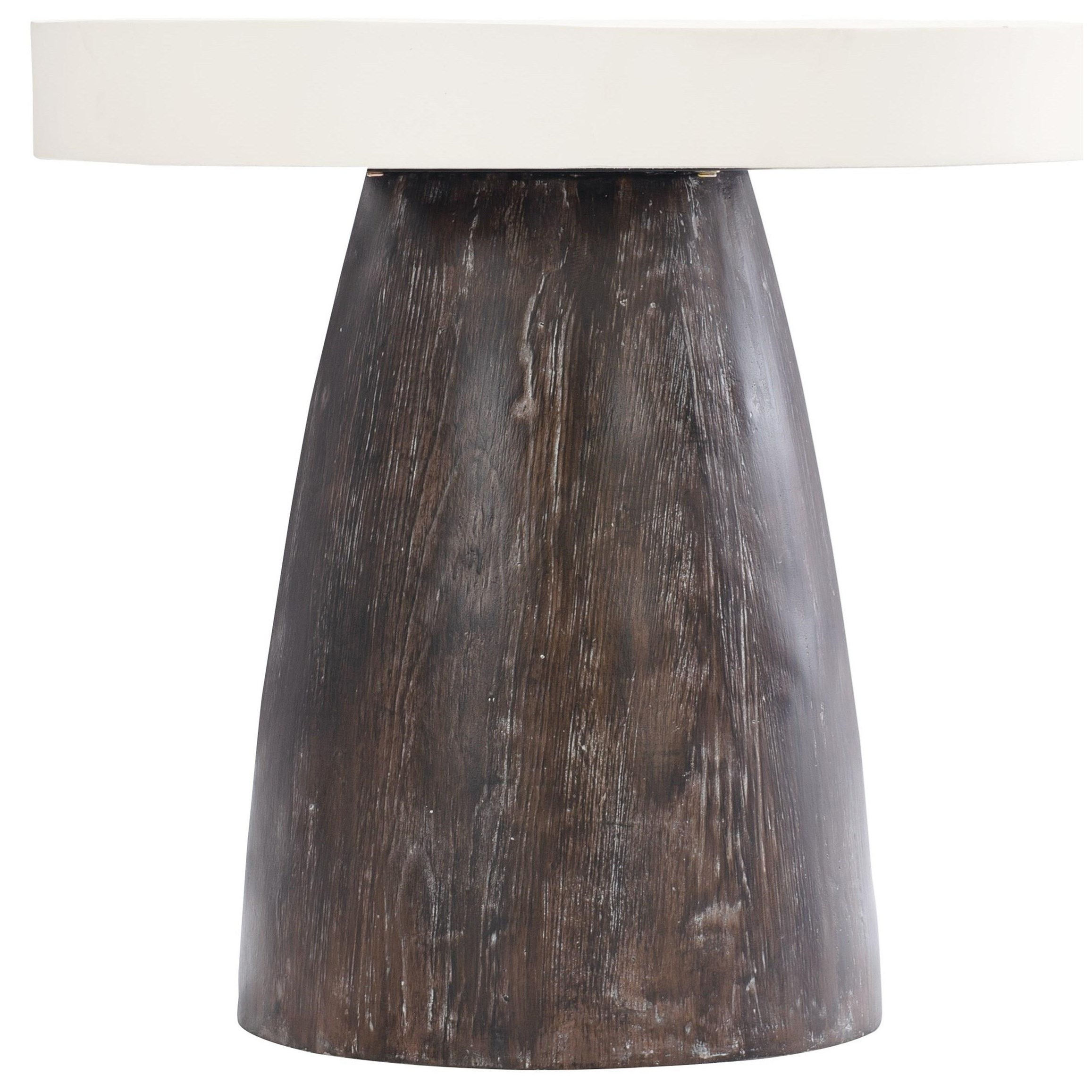 Loft - Logan Square Arlo Round End Table by Bernhardt at Baer's Furniture
