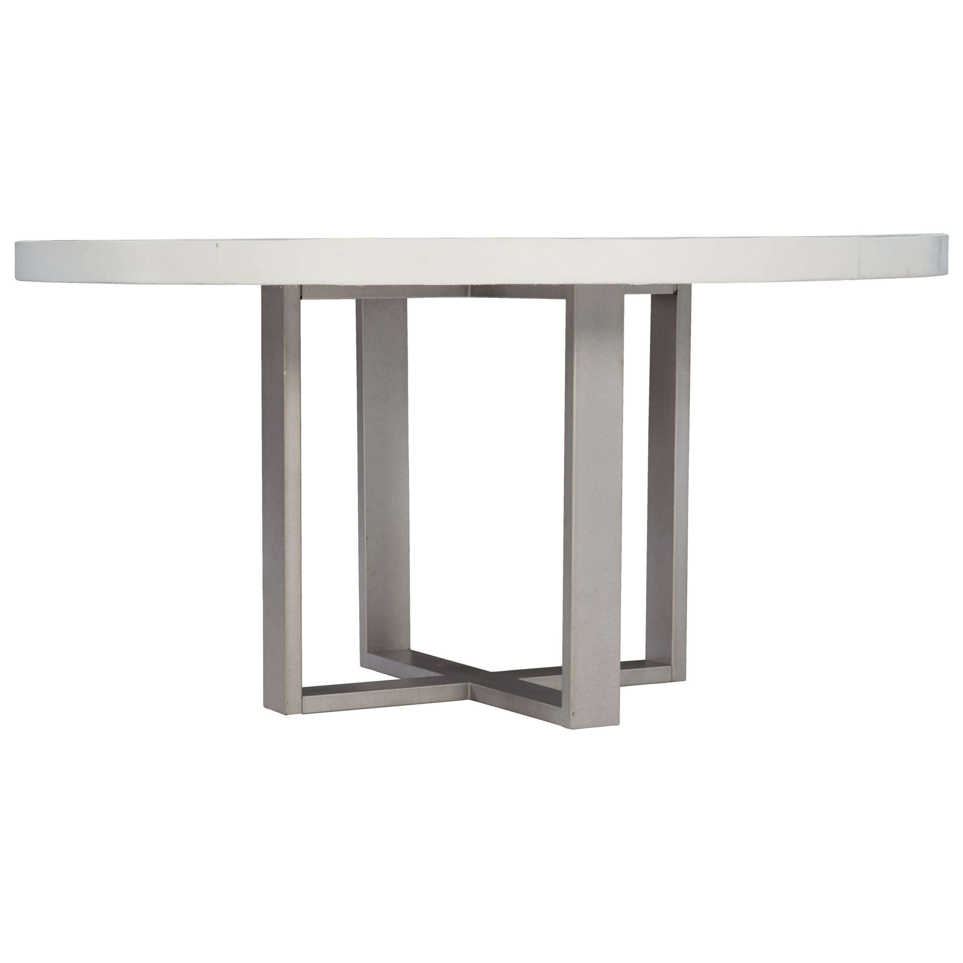 Loft - Logan Square Merrion Round Dining Table by Bernhardt at Baer's Furniture